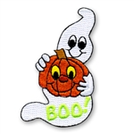 BOO! Ghost Sew-On Fun Patch