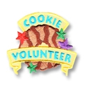 Cookie Volunteer Iron-on Fun Patch