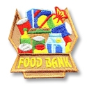 Food Bank Iron-On Fun Patch (Box)