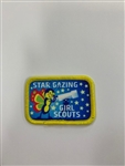 Star Gazing Girl Scouts Fun Patch