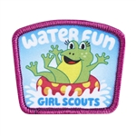 Water Fun Sew-On Fun Patch (Frog)