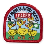 My Mom is a Leader Ducks Sew-On Fun Patch