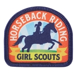 Horseback Riding Sew-On Patch