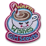 Warm Wishes Mug Sew-On Fun Patch