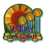 Girl Scout Sunday Sew-on Patch