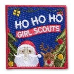 Ho Ho Ho Santa Iron-On Fun Patch