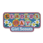 Leader's Day Iron-On Fun Patch