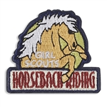Horseback Riding Iron-On Fun Patch