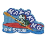 Kayaking Iron-On Fun Patch - Turtle