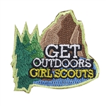 Get Outdoors Iron-on Fun Patch
