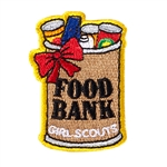 Food Bank Iron-On Fun Patch