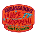 Ambassadors Make It Happen Fun Patch