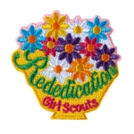 Girl Scout Rededication Iron-on Patch