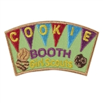 Cookie Booth Iron On Fun Patch
