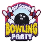 Bowling Party Fun Patch