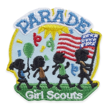 Parade Confetti Iron-On Patch