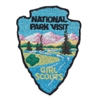 National Park Visit Fun Patch
