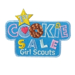 1st Cookie Sale Iron-on Fun Patch