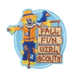 Fall Fun Patch Scarecrow
