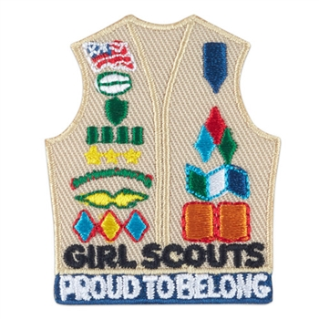 Cadette Sr Amb Vest Fun Patch
