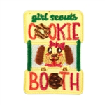 Cookie Booth Dog Fun Patch