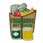 Food Drive Paper Bag Fun Patch