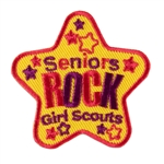 Seniors Rock Fun Patch (Star)