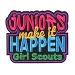 Juniors Make it Happen Fun Patch