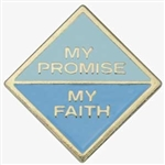 My Promise, My Faith Pin (Daisy-Year 1)