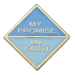 My Promise, My Faith Pin (Daisy-Year 2)