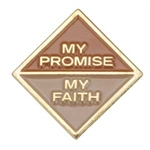 My Promise, My Faith Pin (Brownie-Year 2)