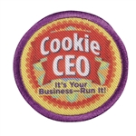 Junior - Cookie CEO Badge