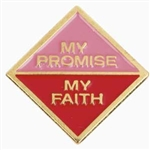 My Promise, My Faith Pin (Cadette-Year 1)