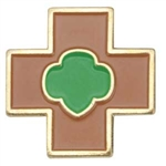 Safety Award Pin (Brownie)