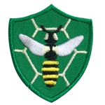 Bee Troop Crest