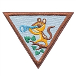 Brownie Outdoor Adventurers Badge