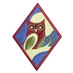 Cadette - Night Owl Badge