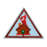 Brownie - Cabin Camper Badge