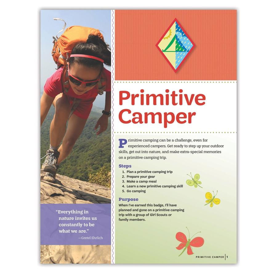 Cadette Primitive Camper Badge Requirements-6942