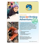 Ambassador Snow or Climbing Adventure Badge Requirements