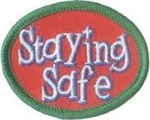 Staying Safe Sew-On Fun Patch