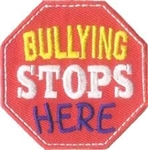 Bullying Stops Here Fun Patch