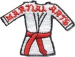 Martial Arts Sew-On Fun Patch