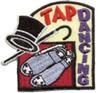 Tap Dance Sew-On Fun Patch