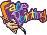 Face Painting Sew-On Fun Patch