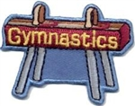 Gymnastics Sew-On Fun Patch