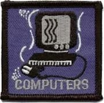Computers Sew-On Fun Patch