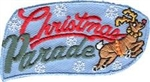 Christmas Parade Reindeer Fun Patch