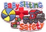 Babysitting Safety Sew-On Fun Patch