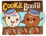 Cookie Booth (Cookie People) Sew-On Fun Patch